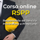 Corso RSPP online - Certificazione iso online